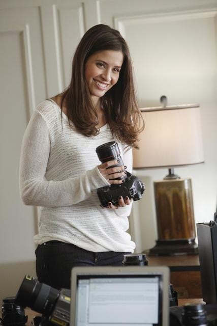 Mercedes Masohn on 666 Park Avenue.