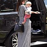 Miranda Kerr and Flynn Bloom visited friends in Santa Barbara.