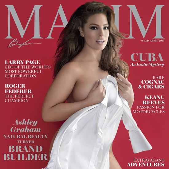 Ashley Graham's Maxim Cover April 2016