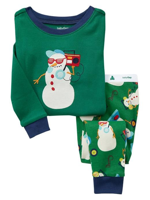 Gap Musical Snowman Sleep Set