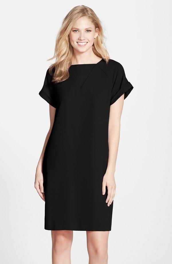 Marc New York Crepe Short Sleeve Shift Dress ($138)