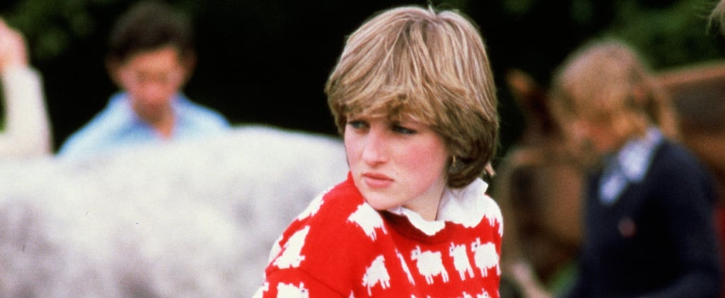 You Can Knit Princess Diana's Black Sheep Jumper