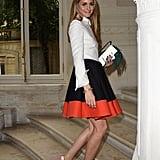 A Flouncy Striped Skirt