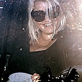 Jessica Simpson was all smiles after her workout in LA.
