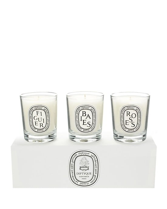 """I have these all over my house. This is the cutest mini candle gift set! The packaging speaks for itself. They're so chic and portable! "" 