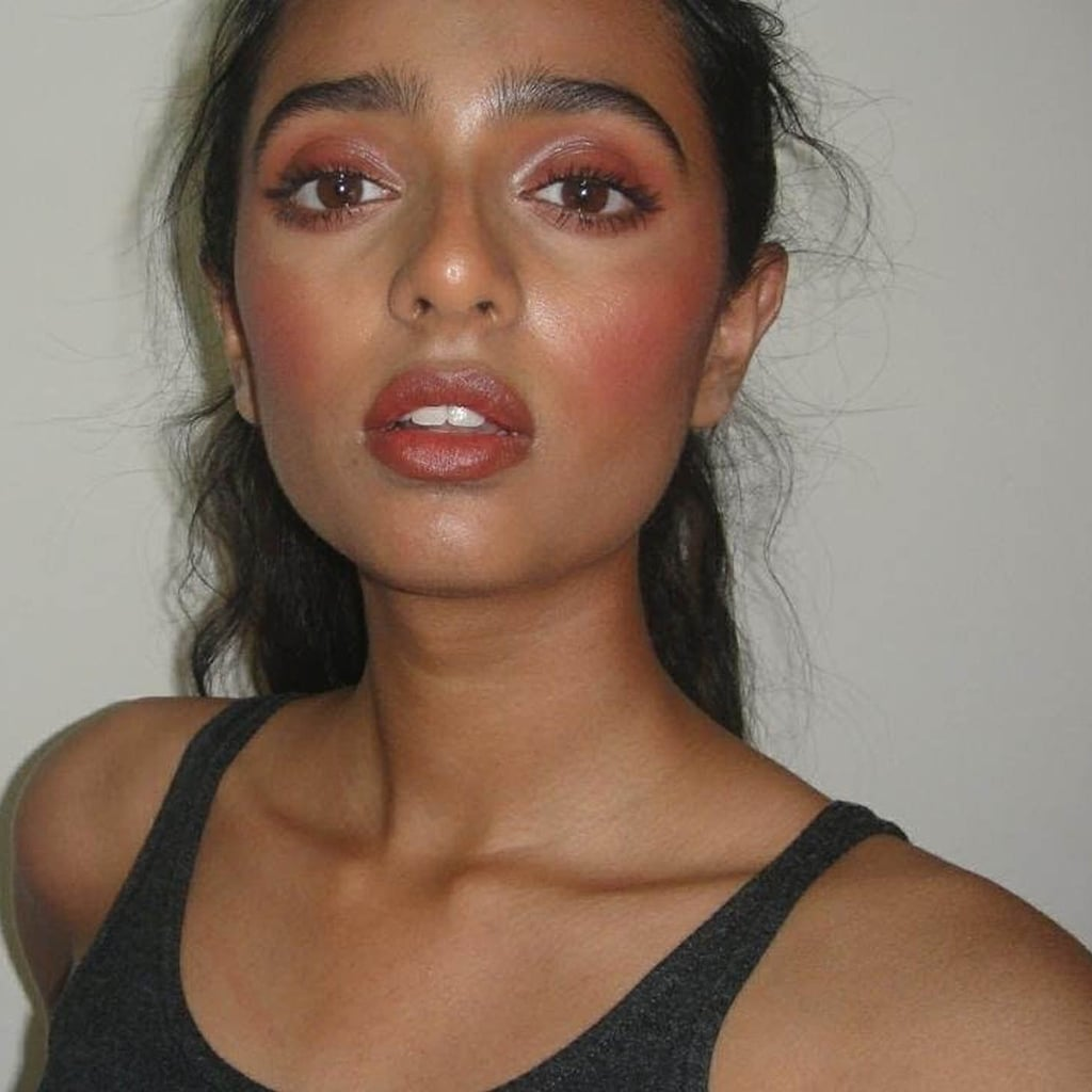 Full Makeup Look Using Lipstick