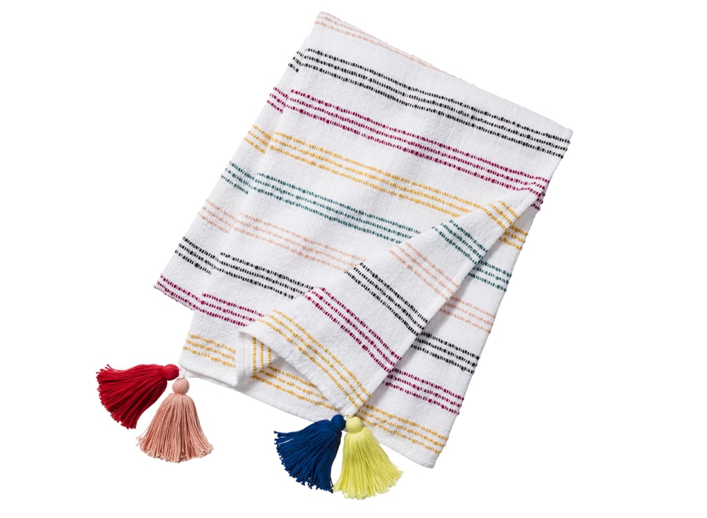 Threshold Textured Stripe Throw Blanket