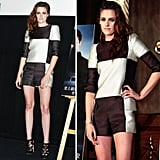 Kristen Stewart was the first to don Spring 2013 Louis Vuitton while promoting the second part of Breaking Dawn.