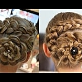Dutch Flower Braid Tutorial