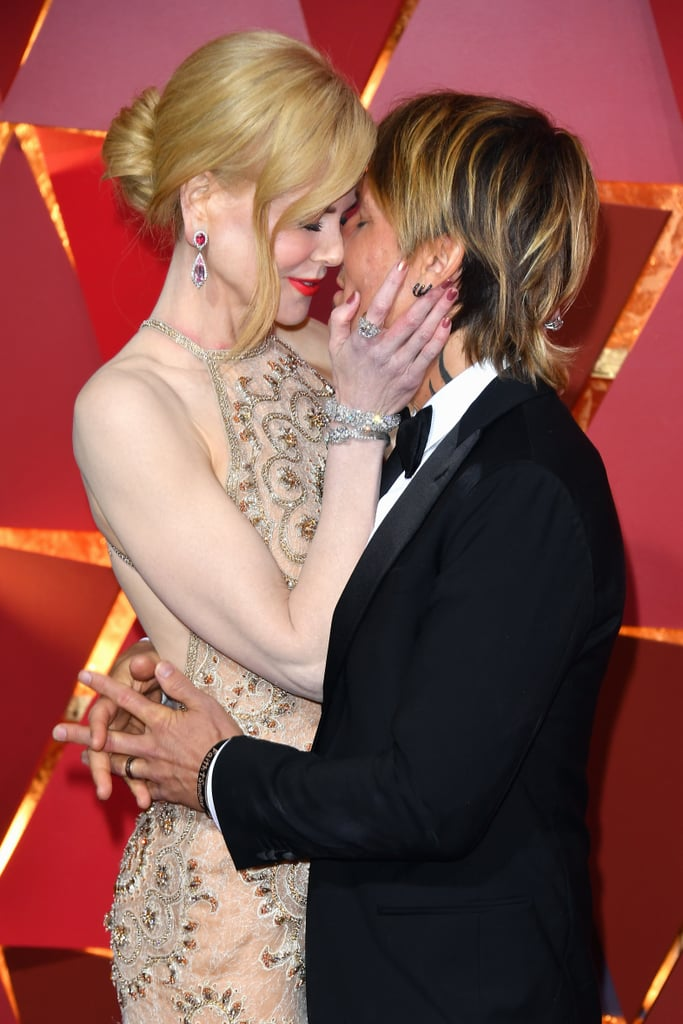 Keith Urban and Nicole Kidman have a love that just won't quit (and we hope it never does). After more than 10 years of marriage, the couple still look like newlyweds whenever they hit the red carpet together. While they show all sorts of sweet PDA around the globe, the Aussie lovers have one signature move they always go back to: Keith whispering into Nicole's ear. Even with all the flashing cameras, these two only focus on each other. See all the times Keith and Nicole looked like they had a sweet little secret.       Related:                                                                                                           Nicole Kidman and Keith Urban's One-of-a-Kind Romance, in Their Own Words