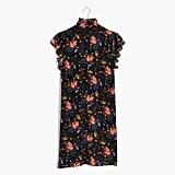 Madewell x No.6 Silk Beacon Dress in Garden Bouquet ($150)