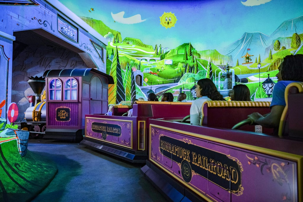 Easter Eggs Hidden in Mickey and Minnie's Runaway Railway