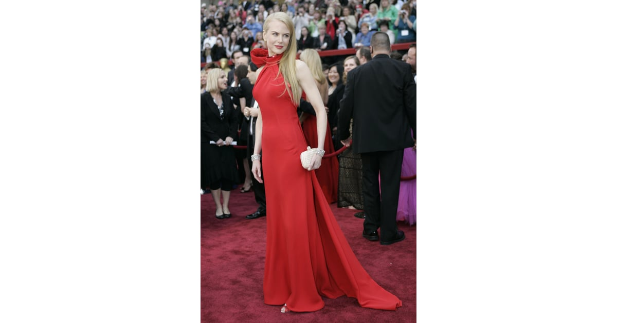 Nicole Kidman Balenciaga Wedding Dresses: Nicole Wearing Balenciaga At The Oscars In 2007.