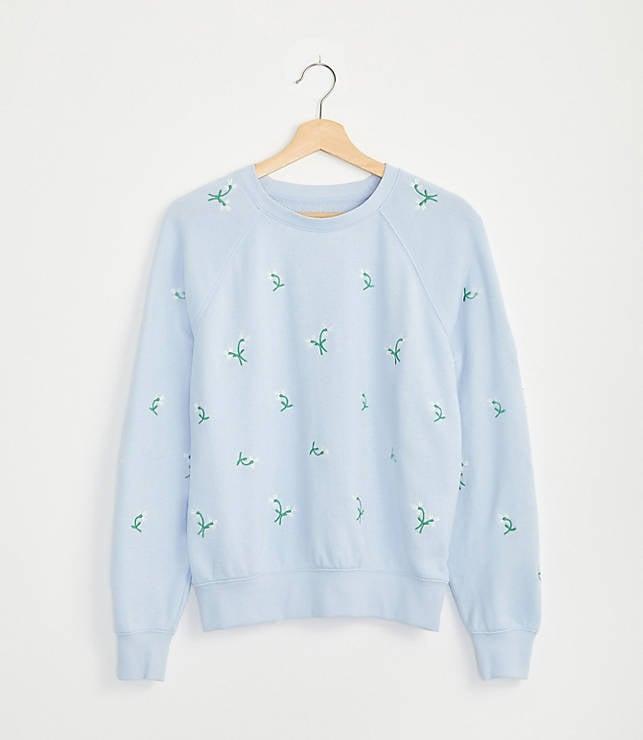 Daisy Terry Sweatshirt