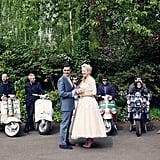Scooters For Bridal Party