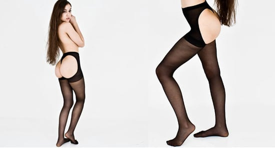 American Apparel Launch Bottomless Tights Revealing