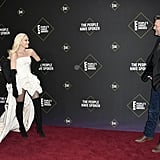 Gwen Stefani and Blake Shelton at the 2019 People's Choice Awards