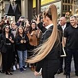 Jennifer Lopez With a Long Ponytail