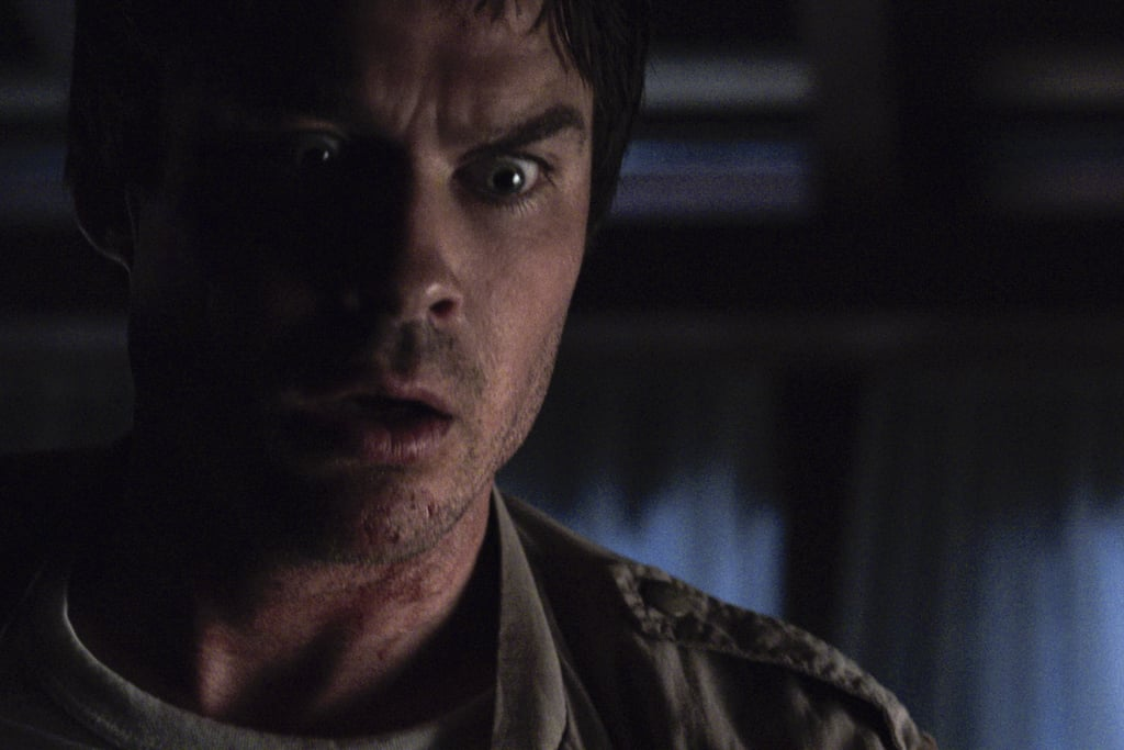 """The first look at Netflix's V Wars is here, and my how the tables have turned for Ian Somerhalder. After playing vampire bad boy Damon Salvatore on The Vampire Diaries for eight seasons, the actor is now fighting off vampires on his new series.  The new show, which is based on Jonathan Maberry's best selling books, follows Dr. Luther Swann (Somerhalder) in a world where a mysterious disease has turned humans into murderous predators. As Swann tries to get to the bottom of the mystery, his best friend Michael Fayne (Adrian Holmes) succumbs to the disease and eventually rises up as the powerful leader of the vampires.  Back in April 2018, Somerhalder teased the new show to POPSUGAR saying that he was very excited """"to tackle real, social issues"""" through the show. """"There's no rating on the show, so it's actually a lot more realistic,"""" he said, comparing Netflix's V Wars to The CW's Vampire Diaries. """"The way things happen in life, you can show. The social issues that you're not able to address in network television, you can intertwine them into a fictional narrative that actually is not that far away from the truth.""""  Get a sneak peek of what's to come ahead before the 10-episode series drops on Dec. 5.       Related:                                                                                                           100+ New Original Netflix Series That Were Required Watching in 2019"""