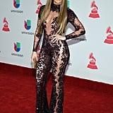 At the Latin Grammys in November 2016