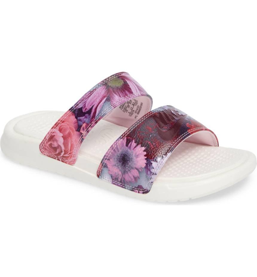 dac74cfa624 Nike Benassi Duo Ultra Slide Sandal | Best Summer Sandals | POPSUGAR ...