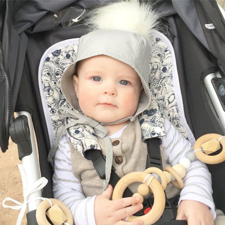 Stylish Baby Gifts Australia : Wooden stroller toy stylish baby gifts popsugar moms