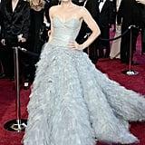 9. Amy Adams in Oscar de la Renta at the Academy Awards