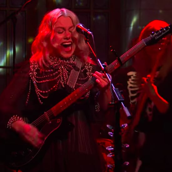 See Phoebe Bridgers Smash Her Guitar on SNL | Video