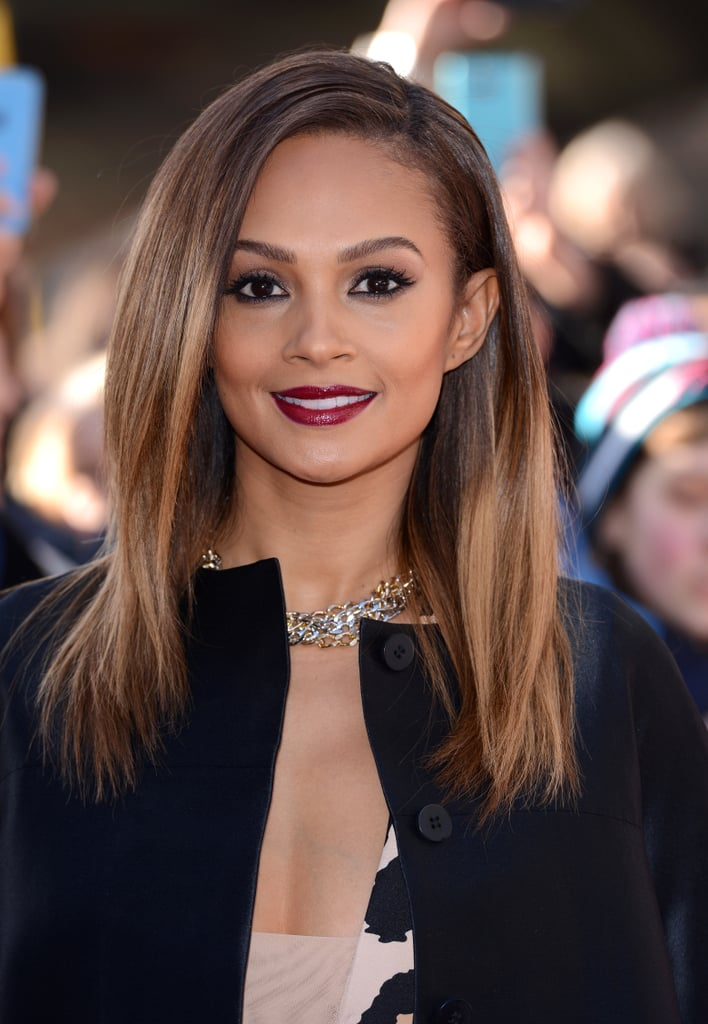 Alesha Dixon Celebrities With Long Hairstyles For Summer