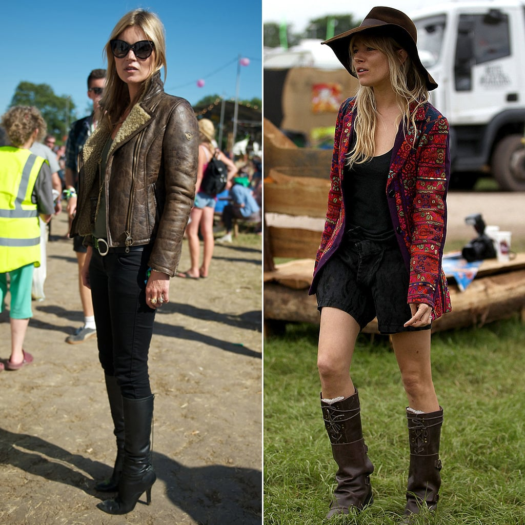 British Celebrity Style at Glastonbury Festival | POPSUGAR ...