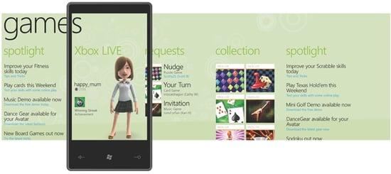 Windows Phone 7 Xbox Live Games Lineup