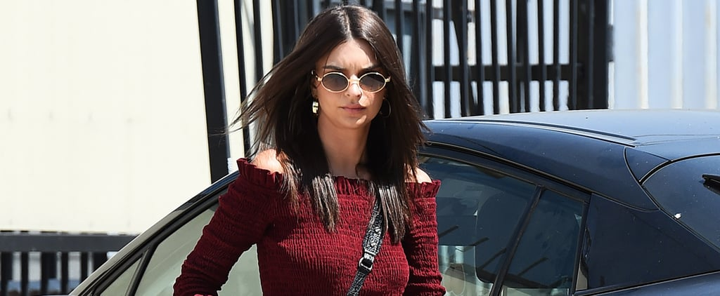 Emily Ratajkowski's Crop Top Will Have You Believing It's the '90s Again