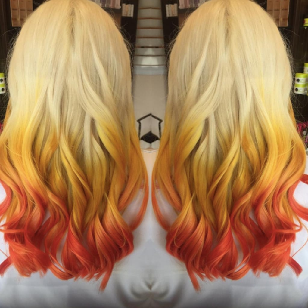 Color Trends What S New What S Next: Candy Corn Hair Color Trend