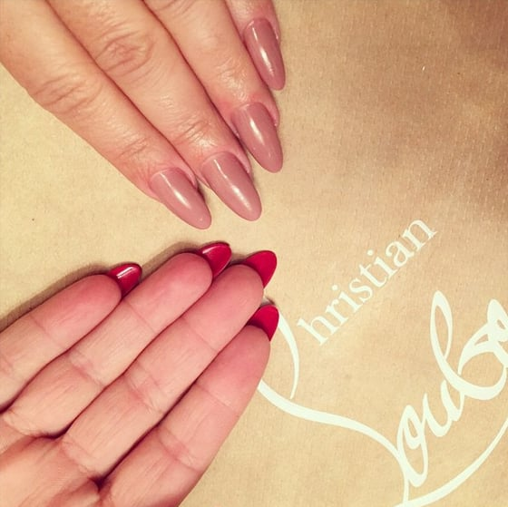 Nearly Naked | Louboutin Nails Ideas | POPSUGAR Beauty Australia Photo 1