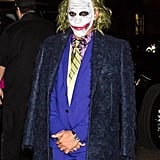 Lewis Hamilton as the Joker