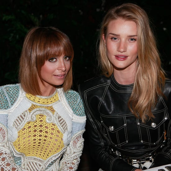 Nicole Richie, Rosie Huntington-Whiteley, Balmain Dinner