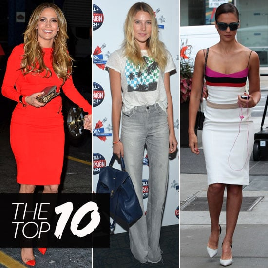 Best Celebrity Style For July 23, 2012