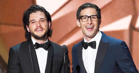 Kit Harington Proposes to Andy Samberg in Emmys 2016 Bit