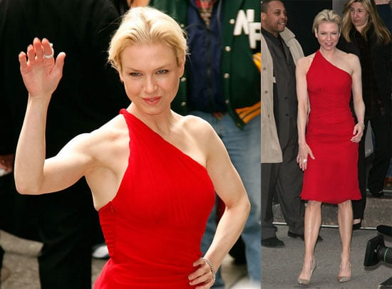 Renée Zellweger On The Late Show With David Letterman