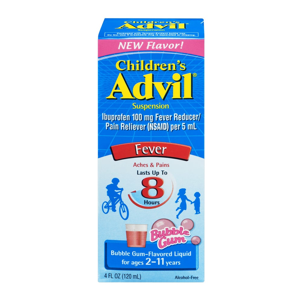 """Check your medicine cabinets! Pfizer Consumer Healthcare announced on Aug. 27 that it was recalling Children's Advil Suspension Bubble Gum bottles in four-fluid-ounce sizes due to unclear labeling and potential overdose concerns.  In a press release, Pfizer warned parents that """"the use of the product with an unmatched dosage cup marked in teaspoons rather than milliliters has a chance of being associated with potential overdose. The most common symptoms associated with ibuprofen overdose include nausea, vomiting, headache, drowsiness, blurred vision, and dizziness.""""  The recalled medicine was sold in the US between May 2018 and June 2018 and has an expiration date of Nov. 20, 2020.  Think you have an affected product? Don't hesitate to reach out with questions by calling the helpline at 1-800-88-Advil (1-800-882-3845), Monday through Friday, between the hours of 9 a.m. and 5 p.m. ET. Otherwise, customers can return their bottles of recalled medication to the same place they bought them for a full refund."""