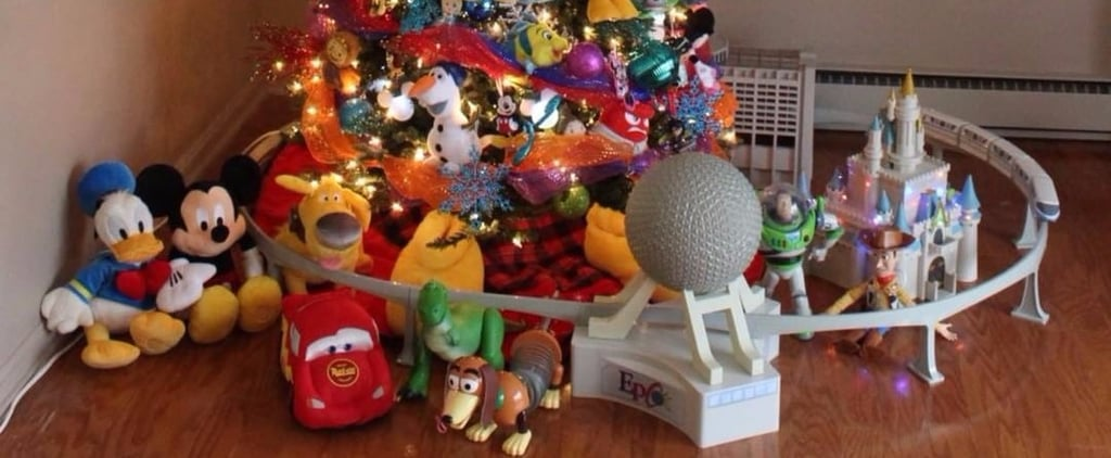 You Haven't Experienced Holiday Magic Until You've Seen This Disney-Themed Christmas Tree