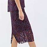 Zara Lace Pencil Skirt ($80)