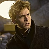 Finnick (Sam Claflin), also looking justifiably stressed.