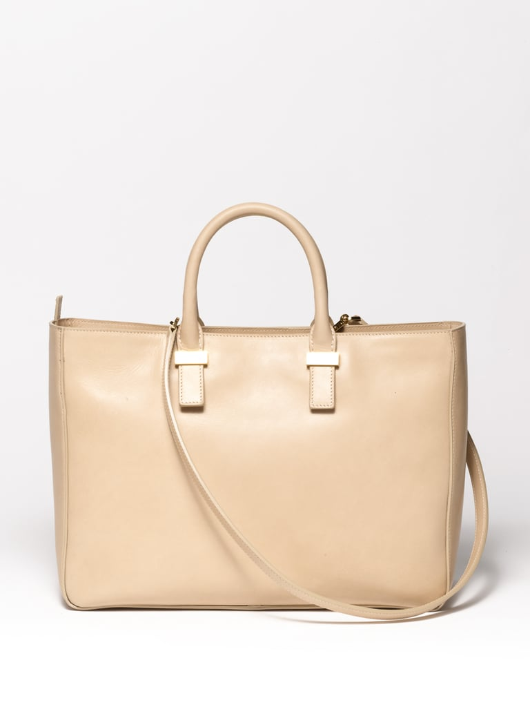 Day Luxe Calfskin Tote in Bone