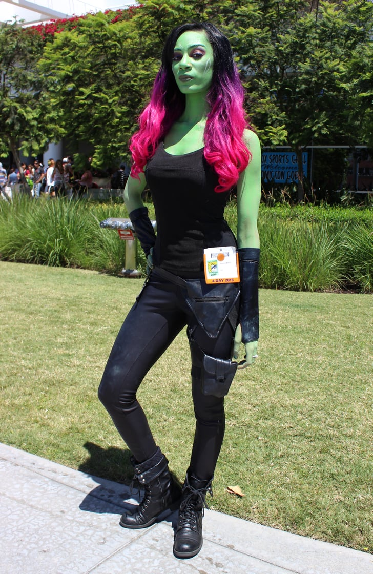 Gamora - Best Cosplay Costumes at Comic-Con - POPSUGAR ...