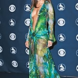 Jennifer Lopez at the Grammy Awards in 2000