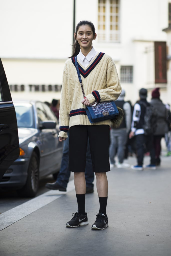 Where Chanel bags and Nikes collide. Source: Le 21ème | Adam Katz Sinding