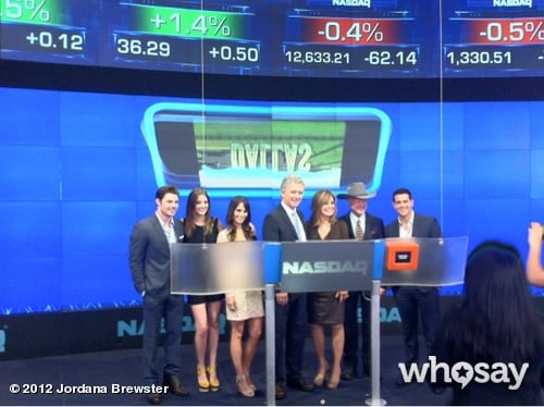 Jordana Brewster hit Wall Street with her Dallas costars.  Source: Jordana Brewster on WhoSay