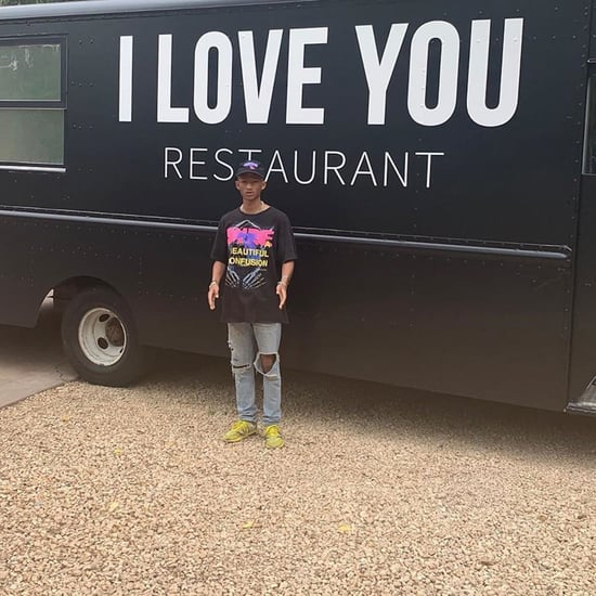 Jaden Smith Feeds Homeless at I Love You Restaurant LA