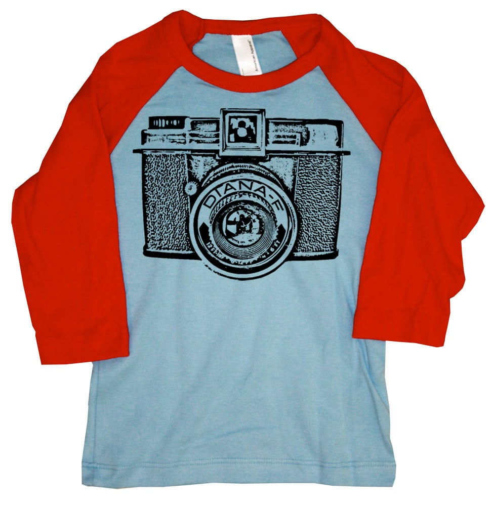 Happy Family Kids Vintage Camera T-Shirt ($20)
